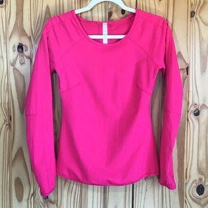Lululemon Long Sleeve Pullover w/thumb holes Sz 6